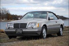 1995 Mercedes E320 Convertible. Classic