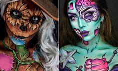 25 Mind-Blowing Halloween Makeup Looks   StayGlam