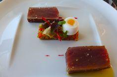 Thon mi-cuit à La Réserve (Ramatuelle)
