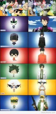 Katekyo hitman reborn anime