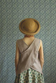 Linen Smock Shirt. $89.00, via Etsy.