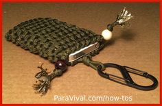 Weaved Paracord iPhone Sleeve