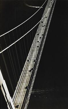 Margaret Bourke-White, Golden Gate Bridge, San Francisco, 1951