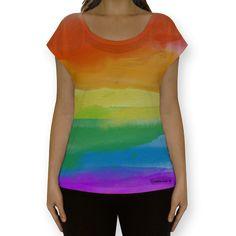 Camiseta fullprint Colors de @heloccastro   Colab55