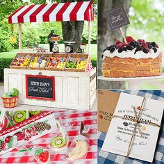 """While most birthday parties are all about cakes, cookies, and candy, this fruit-stand-themed event, thrown by Brandy Rammel of Brandy J Photography for her daughter Jettie Jean's second birthday, proves that healthy sweet stuff can be just as exciting! """"We wanted to chose a theme that suited our daughter at this stage in her life, as well as be something fun for other kids,"""" Brandy says. """"Jettie is currently obsessed with fruit: it's the one thing she never turns down. So a fruit stand was…"""