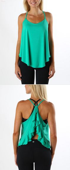 A cute workout tank that looks great outside of the gym!