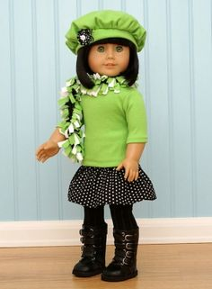 Scarf for American Girl Doll by lenore