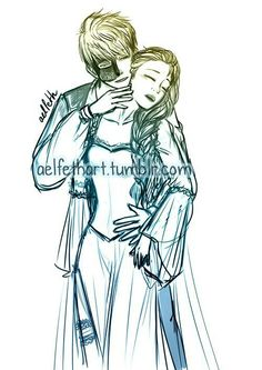 Jack and Elsa meet The Phantom of the Opera
