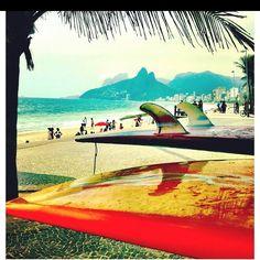 Praia, sol e surf!