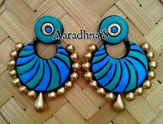 Terracotta earring