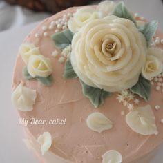 - Rose melia 🌿 - #flowercake  #koreacake #decocake #cakedesign #cakeart #artist #cakeartist #certificate #baking #bakingclass #cakeclass #mydearcake #mydear #korean #bakingstudio #buttercreamcake #flowercakeclass #thaidesert #cakestudio #cakeclass #เค้กช่อดอกไม้ #เค้กดอกไม้ #rosemelia #로즈멜리아 #melia