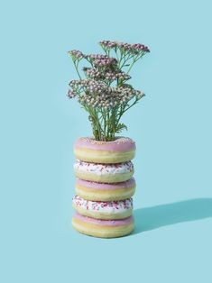 Food Vase by Vanessa Mckeown