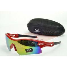 Faixa de óculos de sol Oakley Radar Red Quadro Tipo de lente Colorida  Discount Sunglasses, 6c63f0f017