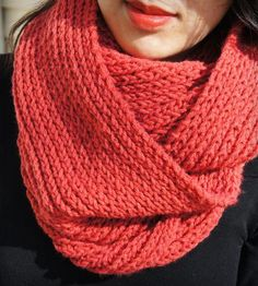 Hand Knit Infinity Scarf by Tammi Snow on Scoutmob Shoppe