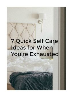 Self care is essential!
