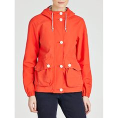 Buy Aigle Rainsog Jacket, Red Online at johnlewis.com