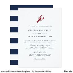 Nautical Wedding Invitations for a summer wedding. Design your own custom personalized nautical wedding invitations with these easy to use templates. Nautical Wedding Invitations, Wedding Invitation Wording, Custom Invitations, Invitation Suite, Invitation Templates, Invitation Design, Invitation Cards, Hummer, Damask Wedding