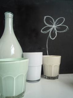 DIY Pastel painted glassware » The Beat That My Heart Skipped – A blog dedicated to daily design inspirations. By Rohini Wahi.