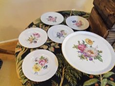 Vintage 60's 11 Gold Edge  Limoges Cake Stand by josephine7075, $100.00