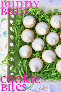 I am all for easy lately, and that's just what this cookie is!  It involves a 1.5-inch round cookie cutter, sugar cookie dough, white royal icing, and white mini marshmallows...