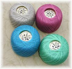 Presencia thread for embroidery (equivalent of DMC Perle size 5)