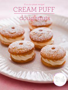 Cream Puff Doughuts