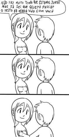 Homens e o romantismo.