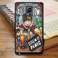 All Time Low Cover Album Cartoon Music Samsung Galaxy Note 3 Case