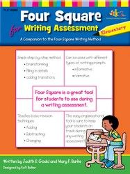 Four Square Secondary Assessment by Judy Gould and Mary Burke-- Students will learn an organized, Four Square approach for brainstorming, a simple three-step revision process to use on initial drafts, and more! Writing Assessment, Teaching Writing, Teacher Resources, Four Square, Homeschool, Learning, Students, Mary, Language Arts