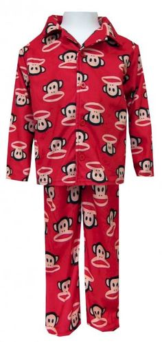 We cannot get enough of these coat-style pajamas for kids. Add Julius the ccb8bde49