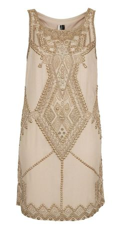 The Great Gatsby Style in nude