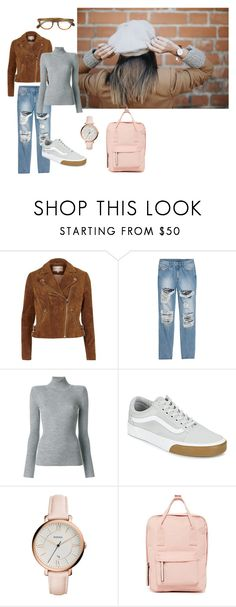 """""""workday"""" by echinazenit on Polyvore featuring River Island, Chloé, Vans, FOSSIL, Madden Girl and Oliver Peoples"""
