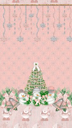 Alabama Wallpaper, Christmas Phone Wallpaper, Holiday Wallpaper, Winter Wallpaper, Disney Wallpaper, Merry Christmas And Happy New Year, Christmas Love, Christmas Pictures, Pink Christmas Decorations