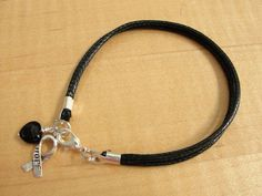 Black Awareness Cotton Bracelet $6
