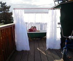Ever wanted to relax in a hot tub under the stars !?