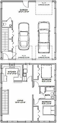My Shed Plans - PDF house plans, garage plans, amp; shed plans. - Now You Can Build ANY Shed In A Weekend Even If You've Zero Woodworking Experience! Plan Garage, Garage Floor Plans, Kitchen Floor Plans, House Floor Plans, Garage Apartment Plans, Garage Apartments, 2 Bedroom Apartment Floor Plan, Apartment Design, Carriage House Plans