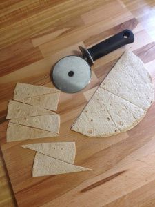 The Perfect Baked Low Carb Tortilla Chip. Hopefully I can find these tortillas!