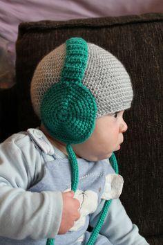 Kopfhörer-Mütze :)