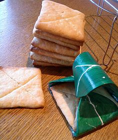 Elven Lembas Bread. This would be neat to take pastry dough and fill it with something sweet!