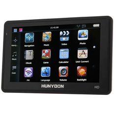 "HY113 Hunydon 5\"" 800x400 TFT Touch Screen Car GPS Navigation Equipment"
