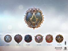 ArtStation - Assassin's Creed Identity Rank emblems, Andi Drude
