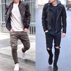 Left or right? Follow @mensfashion_guide for more! By @ianna27 #mensfashion_guide #mensguides