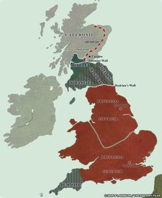 Step through the Roman conquest of Britain from AD 43 until the end of Roman Britain in AD 409 and the aftermath in AD 425 in a series of highly detailed maps. Uk History, European History, British History, History Facts, Anglo Saxon Kingdoms, Map Of Great Britain, Welsh Language, Roman Britain, Beautiful Disaster
