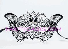 Gorgeous Venetian Eye Mask from partyoasis.com. Need!