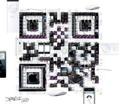 デザイナーQRコードアートギャラリー«世界初のデザイナーQRコードアートギャラリー