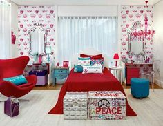 Dream Bedroom, Home Bedroom, Bedroom Stuff, Bedroom Ideas, Teen Room Decor, New Years Eve Party, Valance Curtains, Ideas Para, Improve Yourself