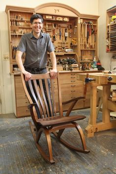 Great article on chair master Jeff Miller. #Design