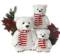 May all your days be merry and bright and may your Christmas be white with our Hellenbrand Bear Collection!