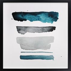 'of land and sea - deep' on Minted.com // kiana mosley
