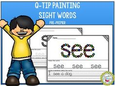 This packet is a fun way for students to practice and review sight words. Students will have fun painting and tracing each sight word as well as using the word in a sentence.